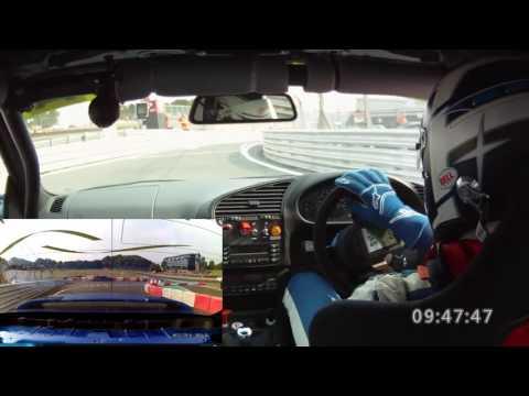 2016 TDC Round 6 Brands Hatch GP Qualifying on board with James Britton