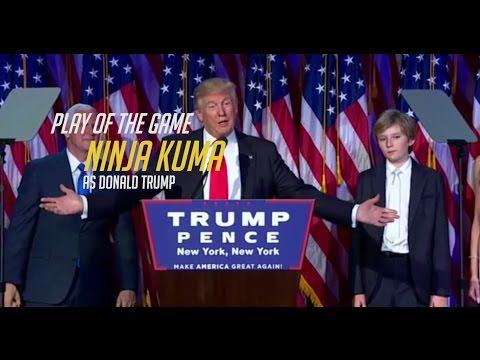Donald Trump - PLAY OF THE GAME - Donald Trump Wins US Presidential Election [Overwatch POTG Parody]