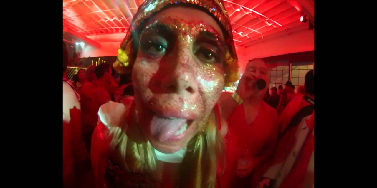 the portland red dress party 2014 - youtube