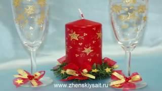 Новогодняя сервировка стола  Пошаговая инструкция