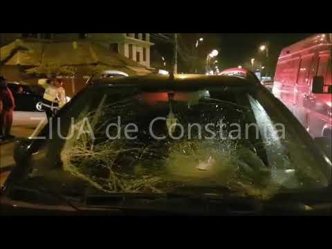 Accident rutier grav în municipiul Constanța. Victima lovită pe trecerea de pietoni