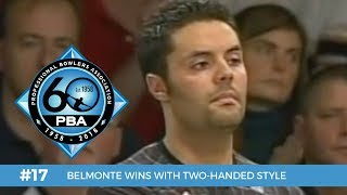 PBA 60th Anniversary Most Memorable Moments #17 - Belmonte Wins with Two-Handed Style