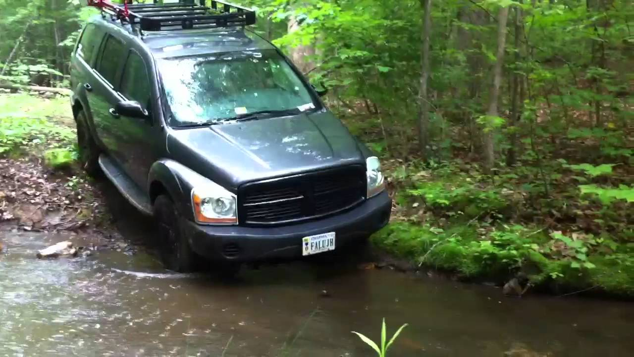2004 Dodge Durango Small Creek Crossing Youtube