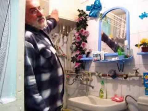 видео: Водогрейный бак. Вода нагревается от печки, через котел