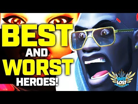 Overwatch - The BEST and WORST Heroes for Season 14!