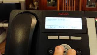 Avaya IP office Sending a message using Visual Embedded Voicemail