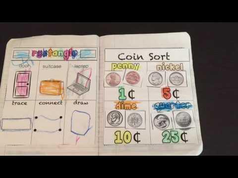 Math Interactive Notebook for Preschool/Kindergarten