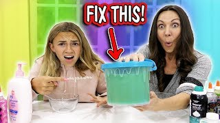 FIX THIS UGLY SLIME TO BE CUTE! | We Are The Davises