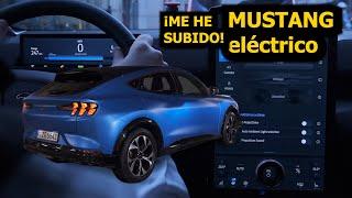 PRIMER ENCUENTRO: DENTRO DEL MUSTANG MACH-E ELÉCTRICO: ¿Puede un eléctrico ser un Mustang?