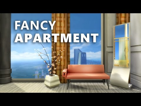 The Sims 4 Build | FANCY APARTMENT (LP apartment)