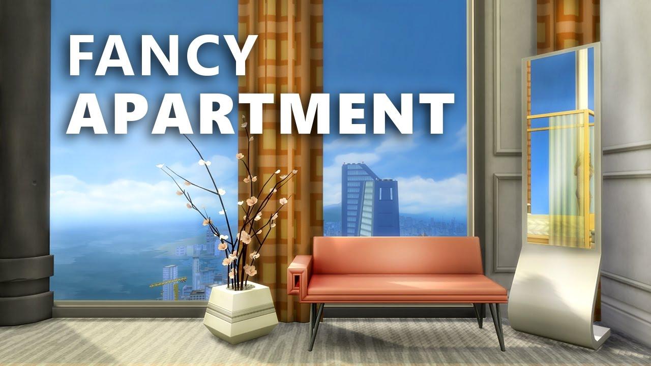 Fancy Apartment Building the sims 4 build | fancy apartment (lp apartment) - youtube