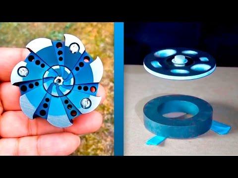 fidget spinner for 100000$ and 100$! FLYING SPINNER!