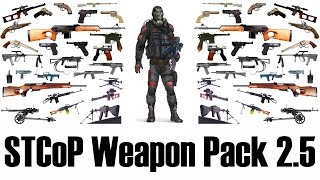 STCoP Weapon Pack 2.5 - Оружейный пак S.T.A.L.K.E.R. Зов Припяти(, 2015-06-13T12:14:17.000Z)