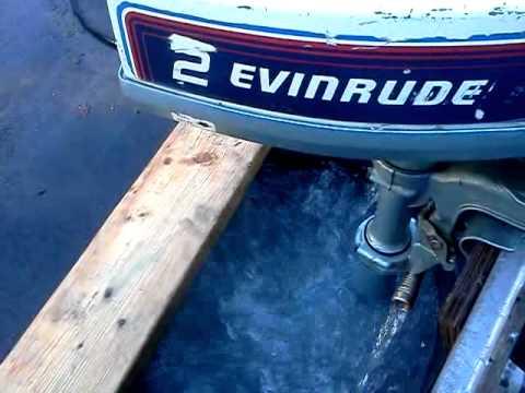 1981 Evinrude 2hp Outboard Motor