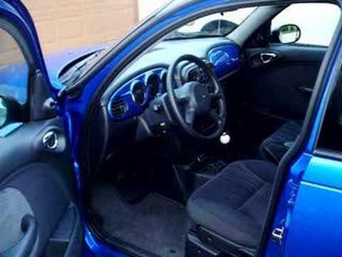 Blue Electric Pearl Pt Cruiser