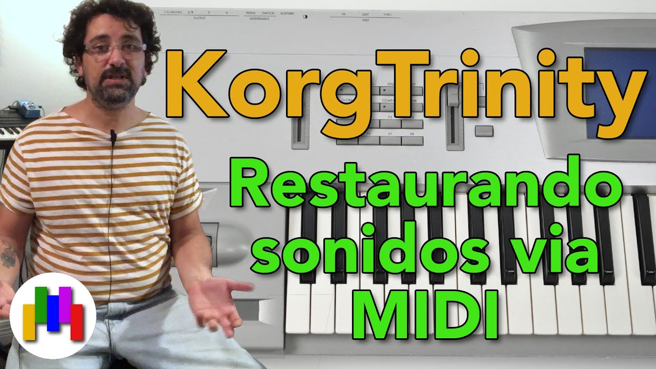 Trinity - Cargando sonidos via MIDI en Español