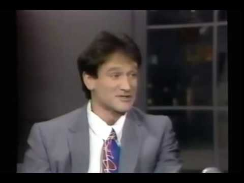 Robin Williams - Letterman FUNNY INTERVIEW (1986)