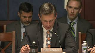 Heinrich Delivers Opening Remarks At Hearing On Treatment Of Children At The Border U.S. Senator Martin Heinrich (D-N.M.) delivers opening remarks during a Democratic Policy and Communications Committee hearing titled .America Speaks ..., From YouTubeVideos
