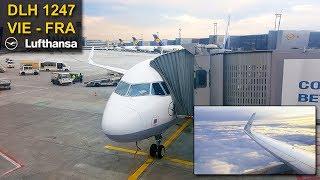 TRIP REPORT | Vienna - Frankfurt | LUFTHANSA Airbus 320CEO Sharklets