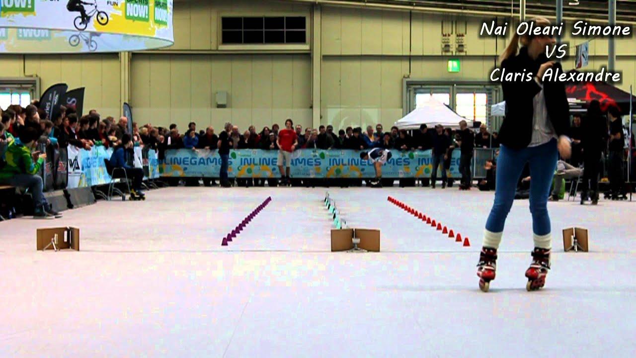 Roller skating x games - Inline Games 2013 Men Speed Slalom