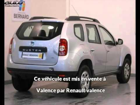 Dacia duster occasion visible à Valence présentée par Renault valence