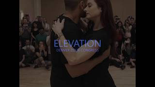 Brazilian Zouk Lead/Follow Kadu and Larissa - Elevation Denver Zouk Festival