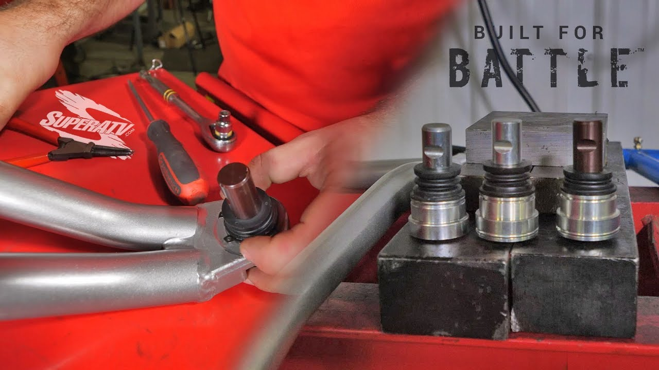How To Install And Remove Utv Atv Ball Joints Superatv Youtube