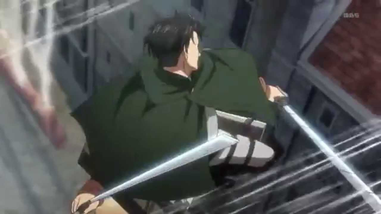 Attack on titan-Levi's badass moments (August Burns Red ...