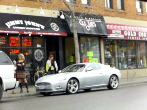 4/20/11 Ordering Jimmy Johns Delivery to car across the street ...