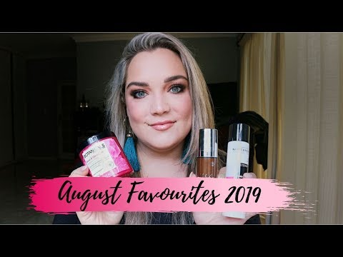 AUGUST 2019 FAVOURITES thumbnail