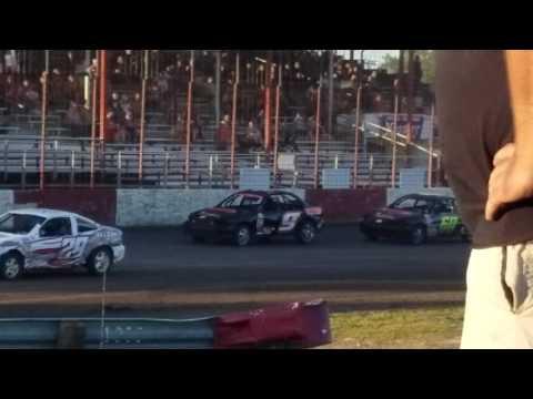 Dustin Virkus @ Madison Speedway- Heat 7.8.17, Part 1