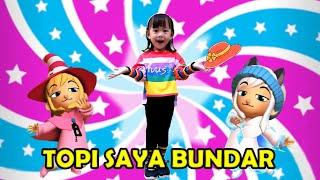 TOPI SAYA BUNDAR ♥ Lagu Anak Balita Indonesia populer ♥ Kalau Kau Suka Hati | NURSERY RHYMES 2020