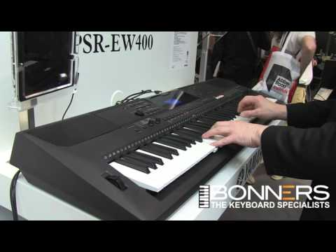 Amazing!! Yamaha PSR-EW400 Keyboard - Quick Overview & Demo From UK