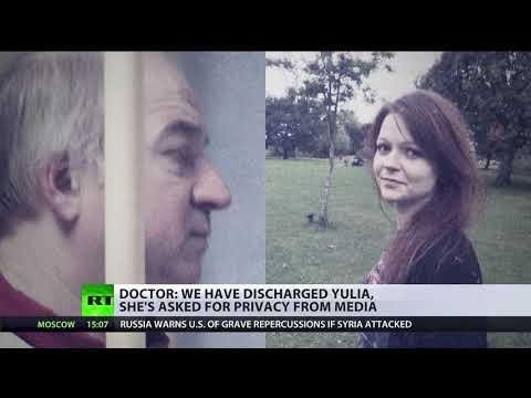 Yulia Skripal discharged from Salisbury hospital