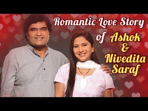 Romantic Love Story Of Ashok & Nivedita Saraf   Celebrity Couple   Dhumdhadaka, Tuzi Mazi Jamli Jodi