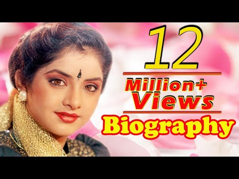 Divya Bharti - Biography In Hindi | दिव्या भारती की जीवनी | Life Story | Unknown Facts
