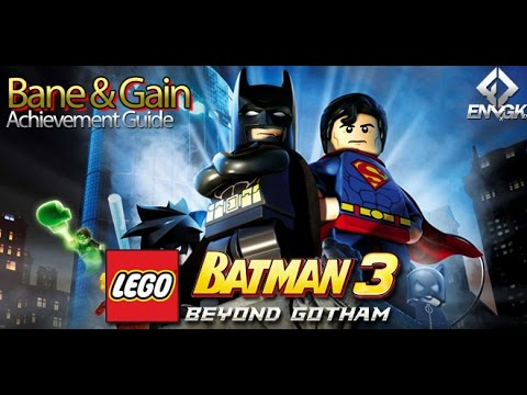 Bane and Gain Achievement Guide for LEGO Batman 3: Beyond ...