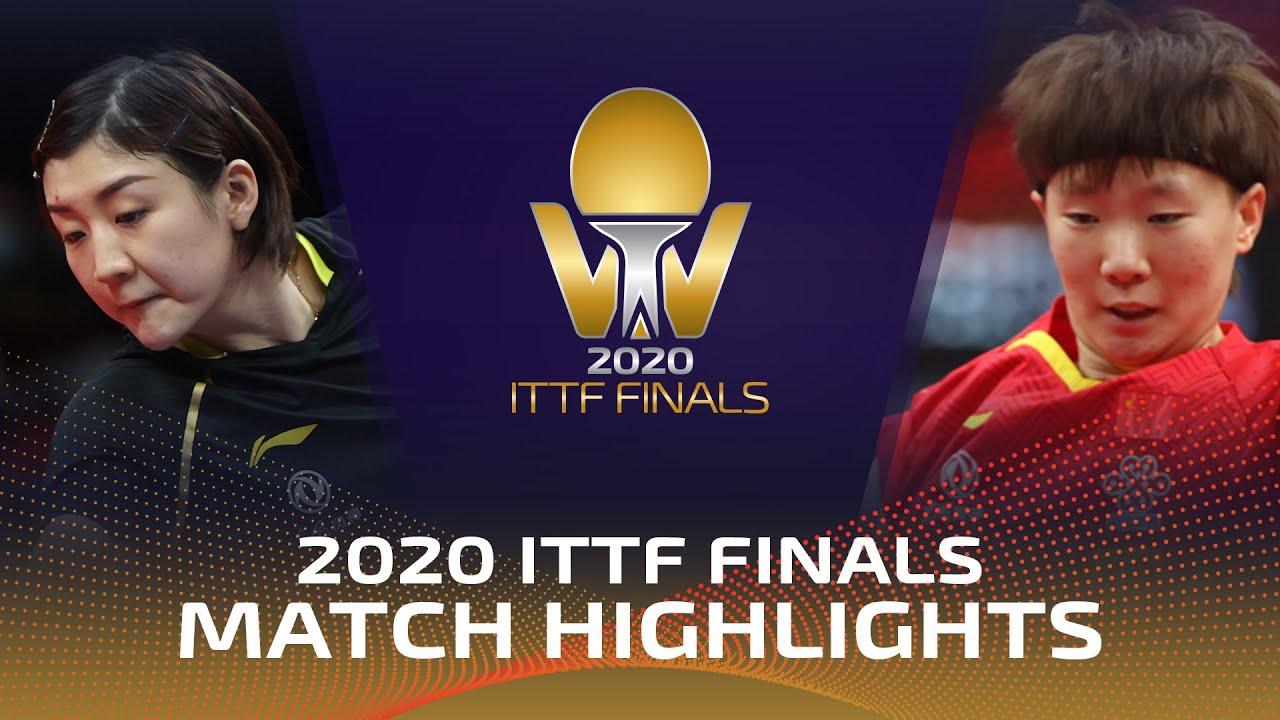 Download Chen Meng vs Wang Manyu | Bank of Communications 2020 ITTF Finals (Final)