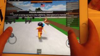 How To Escape Prison(Roblox)From The Toilet!!!/Tablet/Phone/Computer(PC)!!!!