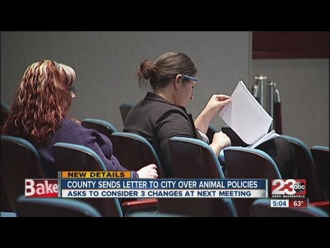 County sends letter to city over animal policies