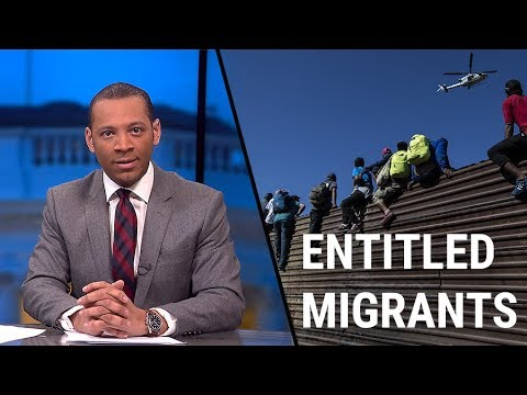 Migrants Demand: Let Us In or PAY (Literally!)