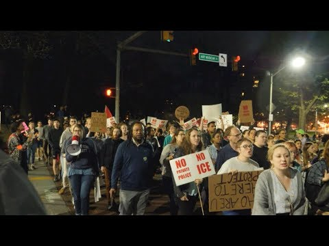 Students, Residents Protest Johns Hopkins ICE Contracts and Private Police