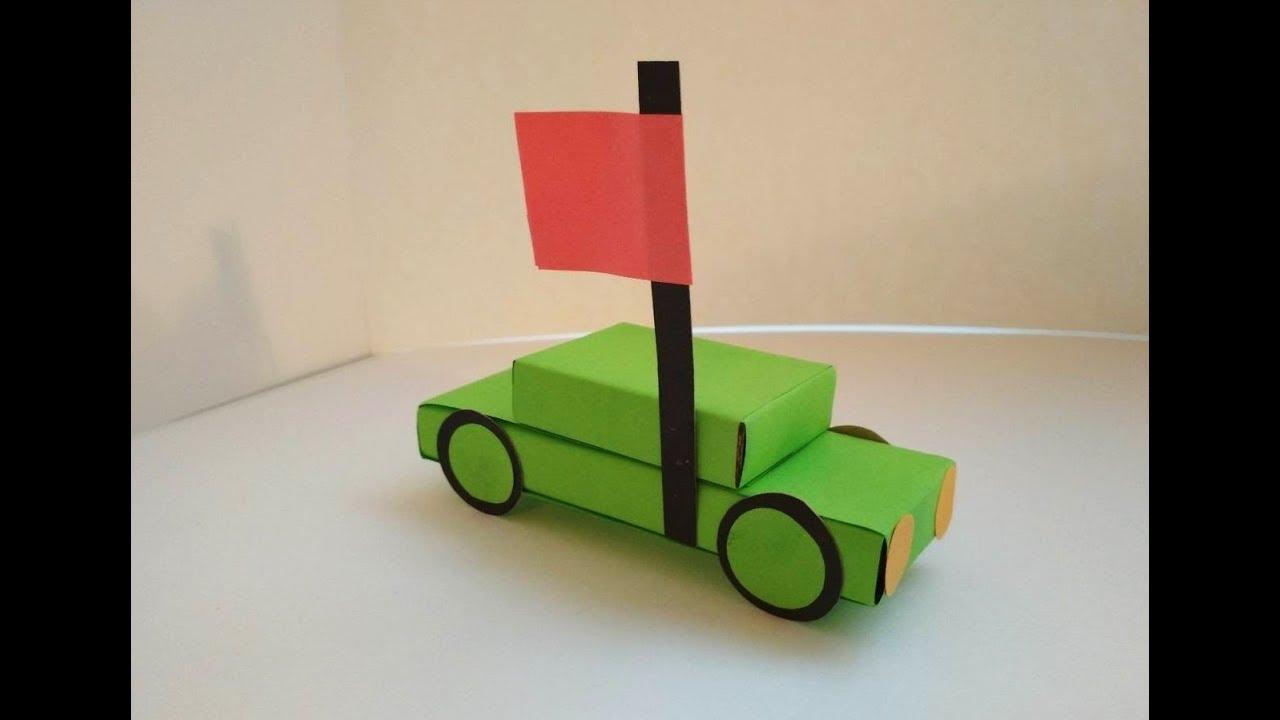 Машинка из коробков своими руками фото 865