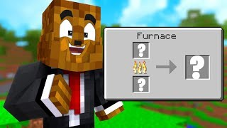 I Cant Believe These Randomized Recipes - Minecraft Scramble Craft #3 | JeromeASF