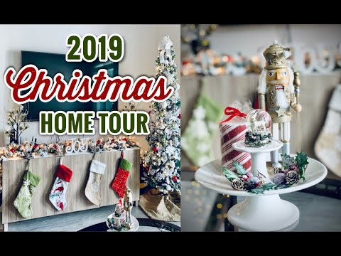 Christmas Decor Home Tour 2019 | Living Eng