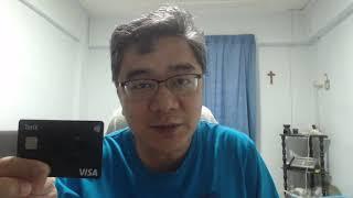 TenX bitcoin debit card / VISA card