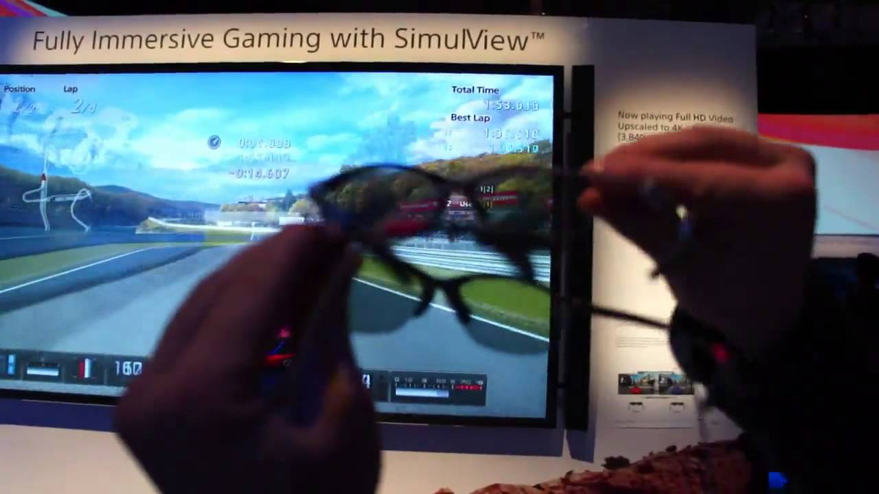 Sony S Simulview Ces 2013 Youtube