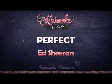 Ed Sheeran - Perfect   SING SING KARAOKE