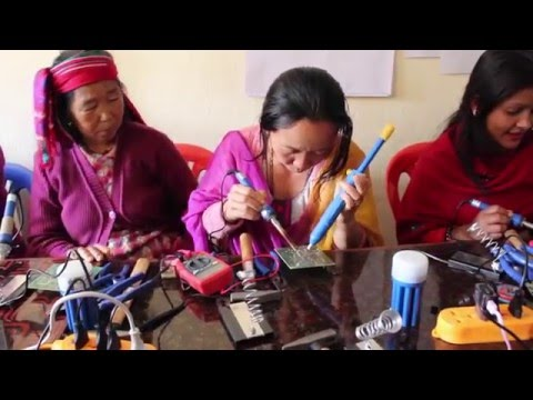 Nepal Earthquake Anniversary - Solar Electricity Training