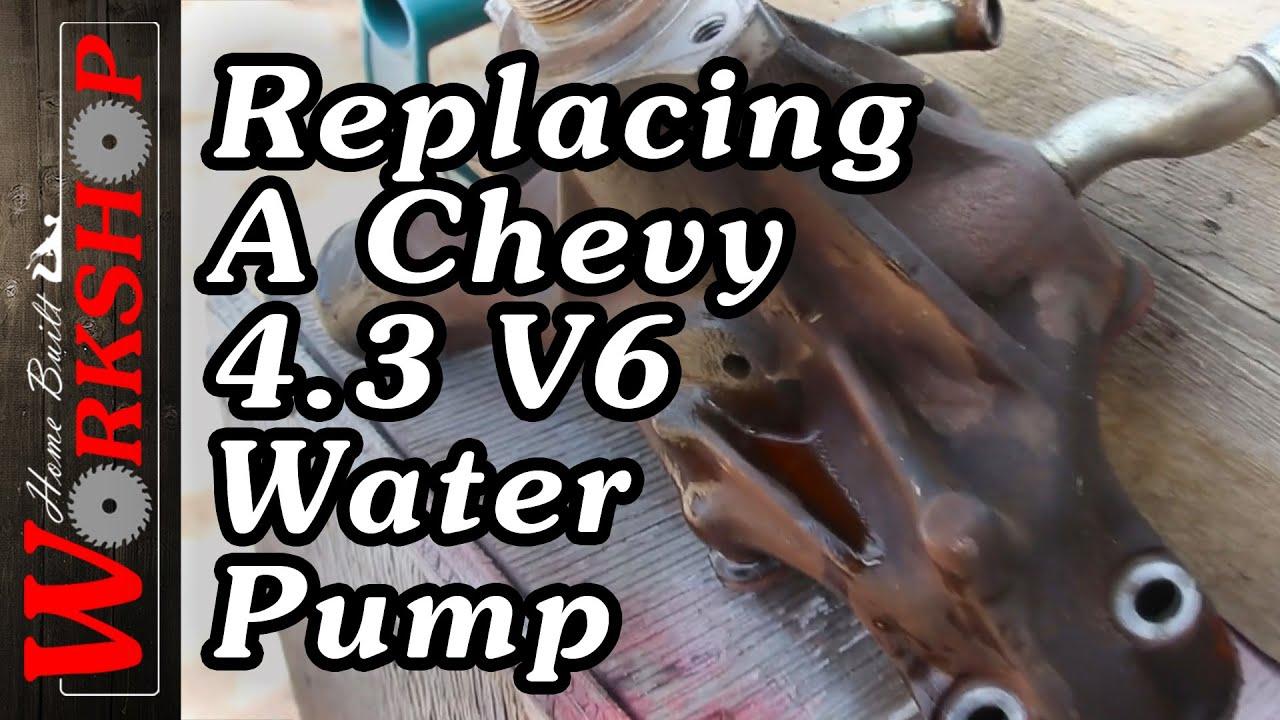 Changing A 1999 Chevy 43 V6 Water Pump 1998 Cheyenne Vortec Engine Diagram